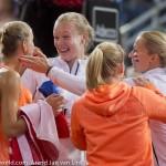 Arantxa Rus en team Fed Cup na winst Rus NL 2015 2645