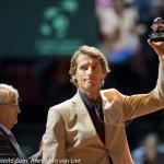 Davis Cup 2013 Nederland Oostenrijk huldiging Haarhuis 9328