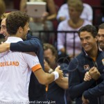Davis Cup 2013 Nederland Oostenrijk team 9954