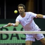 Jean-Julien Roger Davis Cup 2013 Nederland Oostenrijk 9799