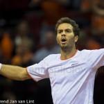 Jean-Julien Roger Davis Cup 2013 Nederland Oostenrijk 9915