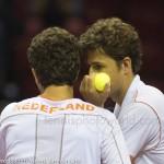 Jean-Julien Roger Robin Haase Davis Cup 2013 Nederland Oostenrijk 9818