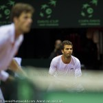 Jean-Julien Roger Robin Haase Davis Cup 2013 Nederland Oostenrijk 9869