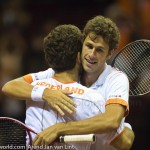 Jean-Julien Roger Robin Haase Davis Cup 2013 Nederland Oostenrijk 9938