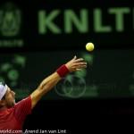 Jurgen Melzer Davis Cup 2013 NL Oostenrijk 8652