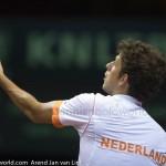 Robin Haase Davis Cup 2013 Nederland Oostenrijk 9821