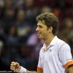 Robin Haase Davis Cup 2013 Nederland Oostenrijk 9897