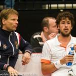 Robin Haase Davis Cup NL Finland 10 feb 2012 4488