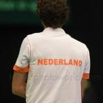 Robin Haase Davis Cup NL Finland 10 feb 2012 4489