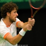 Robin Haase Davis Cup NL Finland 10 feb 2012 4496