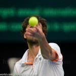 Robin Haase Davis Cup NL Finland 10 feb 2012 4498