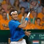 Davis Cup 2009 Nederland Frankrijk 0117