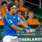 Davis Cup 2009 Nederland Frankrijk 0121