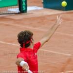 Roger Federer Davis Cup NL Zwits 1026