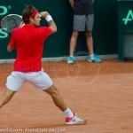 Roger Federer Davis Cup NL Zwits 1049