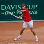Roger Federer Davis Cup NL Zwits 1092