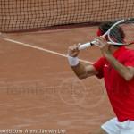 Roger Federer Davis Cup NL Zwits 1131