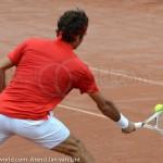 Roger Federer Davis Cup NL Zwits 1132