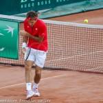 Roger Federer Davis Cup NL Zwits 668