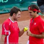 Roger Federer Davis Cup NL Zwits 669