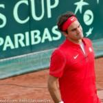 Roger Federer Davis Cup NL Zwits 780