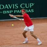 Roger Federer Davis Cup NL Zwits 911