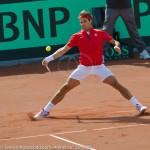 Roger Federer Davis Cup NL Zwits 987