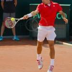 Roger Federer Davis Cup NL Zwits 989