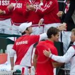 Roger Federer Jan Siemerink Davis Cup NL Zwits 1182