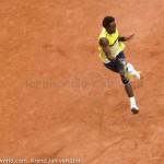 Gael Monfils Rol Garros 2009 FH 334