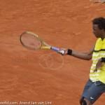 Gael Monfils Rol Garros 2009 FH 349
