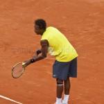 Gael Monfils Rol Garros 2009 service 351
