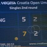 Scorebord Marin Cilic Umag 2014 2271