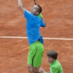 Viktor Troicki RG 2011 ballboy in game 7649