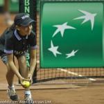 Ballenmeisje Davis Cup 2013 NL-Oostenrijk 8539
