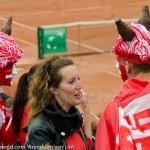 Davis Cup 2012 Nederland Zwitserland 1370