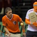 Davis Cup 2013 NL-Oostenrijk 0019