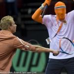 Davis Cup 2013 NL-Oostenrijk 0027