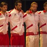 Davis Cup 2013 NL-Oostenrijk Team Oostenrijk 8257
