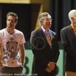 Davis Cup 2013 Nederland Oostenrijk huldiging Haarhuis 9315