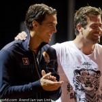 Davis Cup 2013 Nederland Oostenrijk huldiging Haarhuis 9317