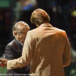 Davis Cup 2013 Nederland Oostenrijk huldiging Haarhuis 9326