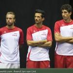 Davis Cup 2013 Nederland Oostenrijk team 8936