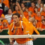 Davis Cup NL Jesse Huta Galung en Peter Wessels Finland sfeerimpressie 5438