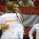 Jan Siemerink Jean-Julien Roger Davis Cup 2013 Nederland Oostenrijk 9950