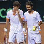 Jean-Julien Roger Robin Haase Davis Cup 2013 Nederland Oostenrijk 9581