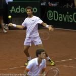 Jean-Julien Roger Robin Haase Davis Cup 2013 Nederland Oostenrijk 9624