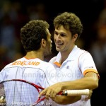 Jean-Julien Roger Robin Haase Davis Cup 2013 Nederland Oostenrijk 9933