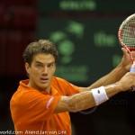 Jesse Huta Galung Davis Cup 2013 NL-Aut 206