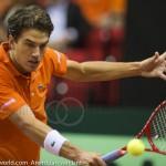 Jesse Huta Galung Davis Cup 2013 NL-Aut 233